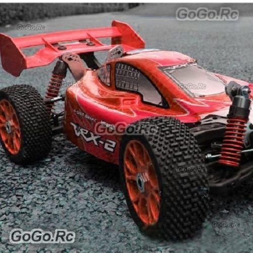 HRC Rear Spoiler High Downforce 1//8 Buggy Black-HRC8901BK