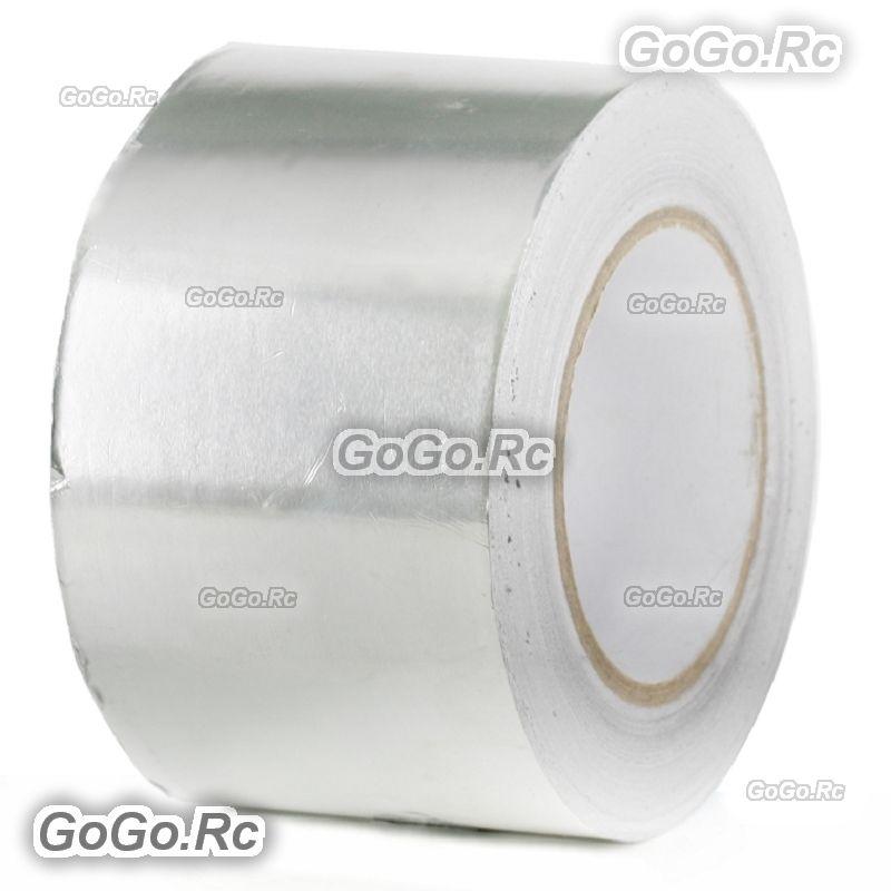Aluminum Foil Heat Radiation Shield Tape Reflector Sealing Adhesive 100mm x 20m