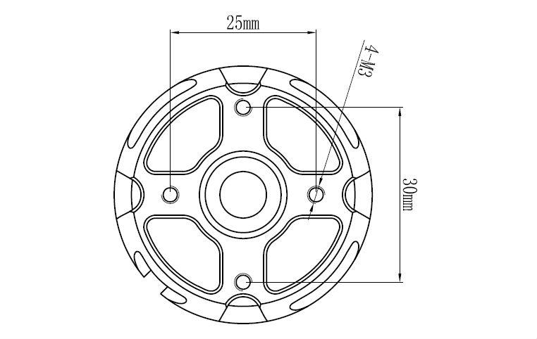 Gartt 510kv 3100w 12s Brushless Motor For 600 Align Trex Rc